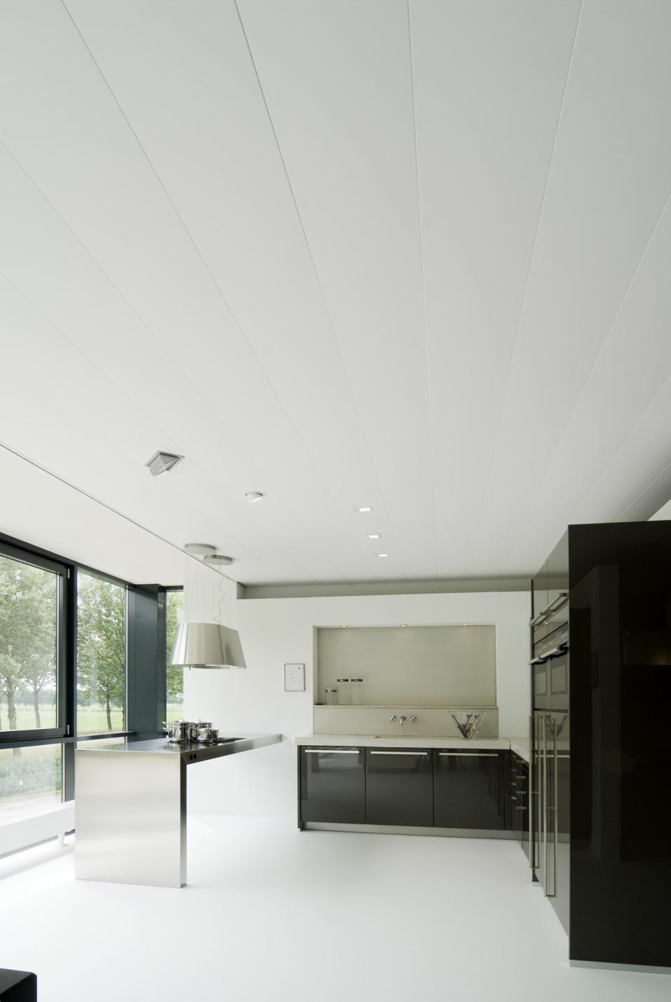 Aluminium plafonds voor de badkamer, op maat gemaakt, 44 kleuren